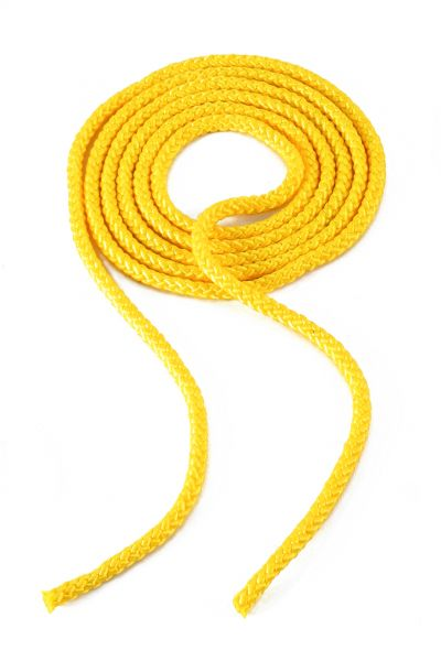 Springseil aus Polypropylen - gelb