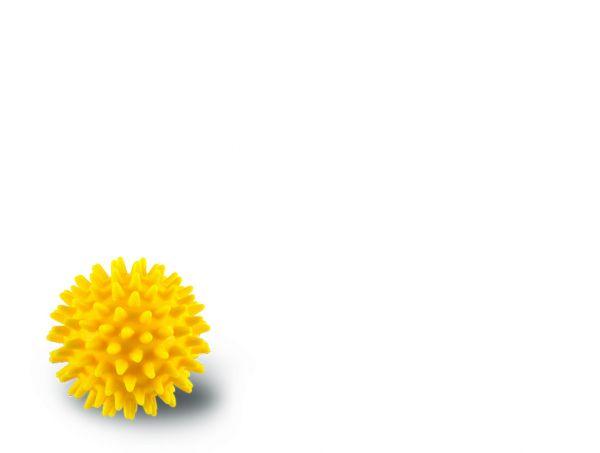 Noppenball - gelb - ∅ 8 cm