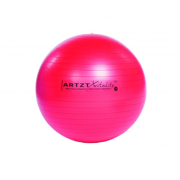 Artzt vitality® Fitness Ball - rot