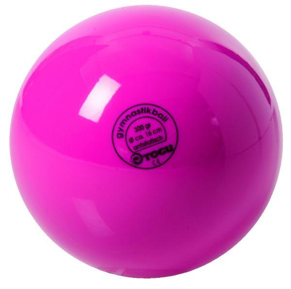 Gymnastikball mit Ventil ∅ 16 cm Farbe: pink