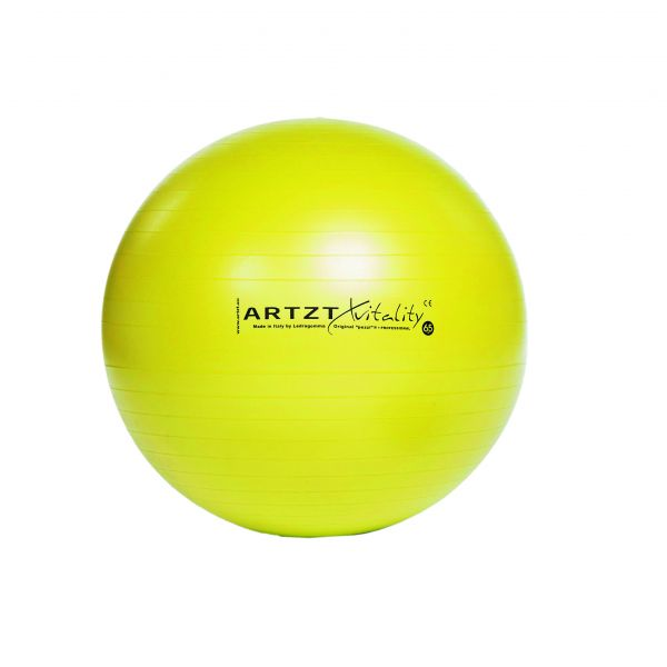 Artzt vitality® Fitness Ball - gelb
