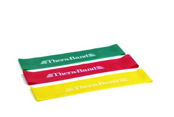Thera-Band Loop mittelstark / L: 30,5 cm in rot