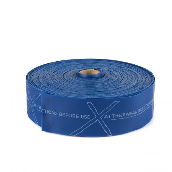 Thera Band CLX Rolle 22m, extra schwer/blau