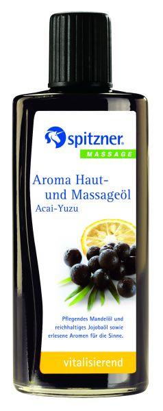 Aroma Haut-und Massageöl Acai-Yuzu