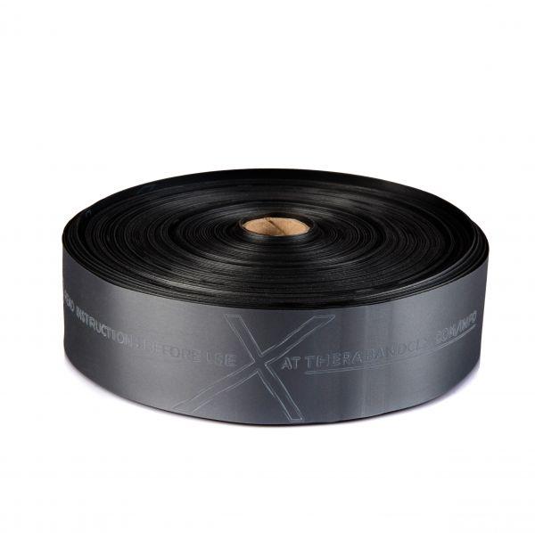 Thera Band CLX Rolle 22m, spezial schwer/schwarz