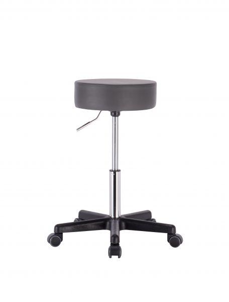 Profi Rollhocker Medic - Sitzhöhe 50,5 - 70,5 cm, dunkelgrau