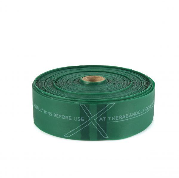Thera Band CLX Rolle 22m, schwer/grün