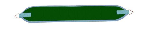 Arm-/Beinschlinge schmal - grün