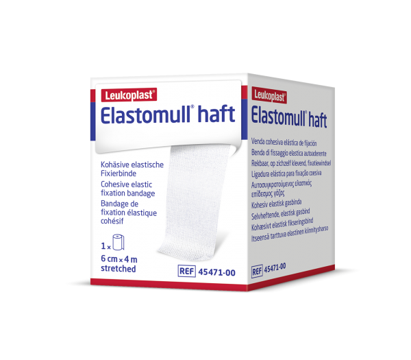 Elastomull® haft 20 m x 10 cm weiß 6 Stück