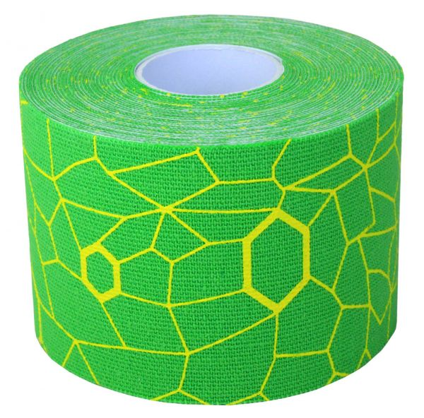 Thera Band Kinesiology Tape 5mx5cm, grün/gelb