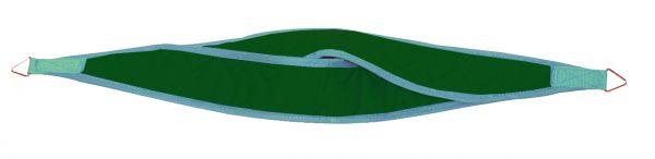 Kopfschlinge dreieckig - grün
