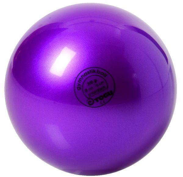 Gymnastikball mit Ventil ∅ 16 cm Farbe: lila