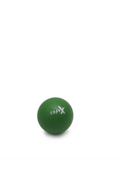 softX® Schaumstoffball mit Haut, grün ∅ 8 cm