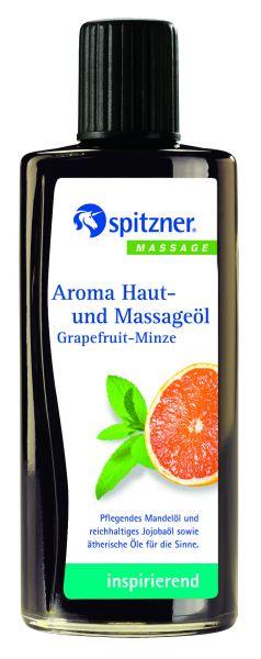 Aroma Haut-u. Massageöl Grapefruit-Minze