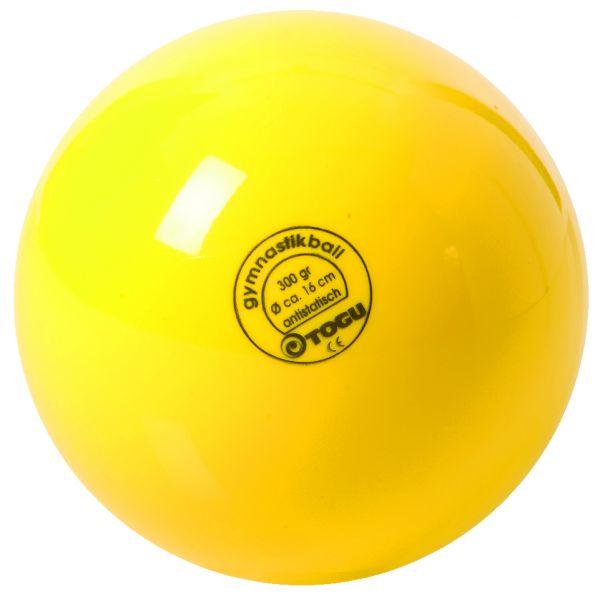 Gymnastikball mit Ventil ∅ 16 cm Farbe: gelb