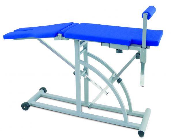 GEBRAUCHT: Trainingstisch-Winkeltisch in Farbe tundra karneol