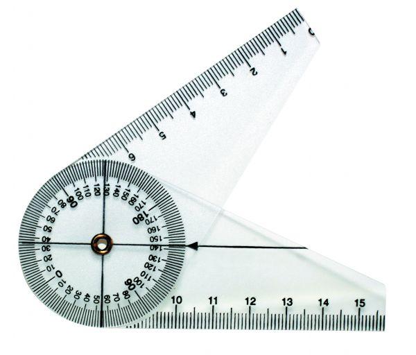 Fingerwinkelmesser aus Kunststoff