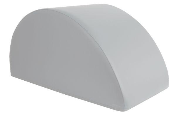 Halbmondkissen 80 x 40 x 40 cm - grau