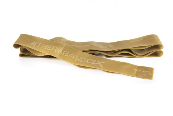 Thera Band CLX Band 2 m, maximum/gold
