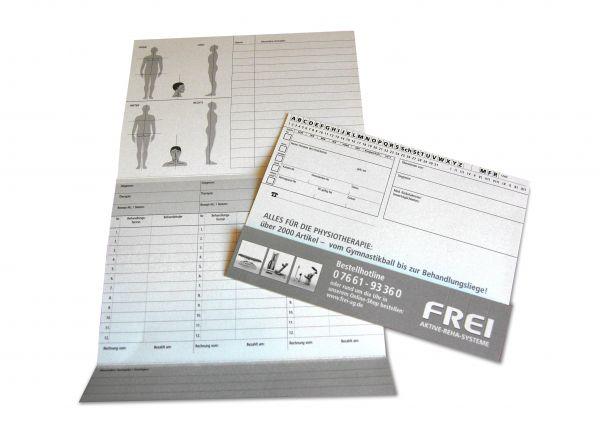 FREI Patientenkarteikarten 250 Stück