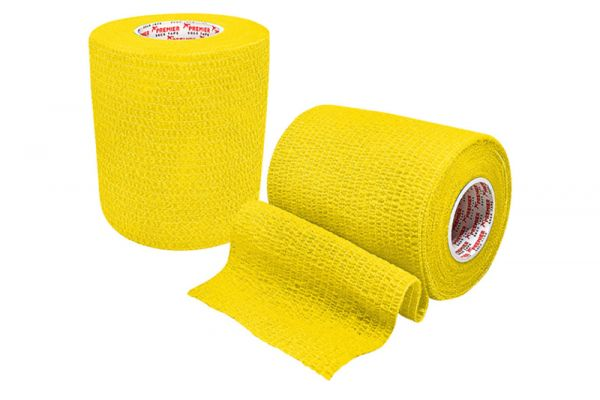 Stutzentape 7,5 cm x 4,5 m - Einzelrolle gelb