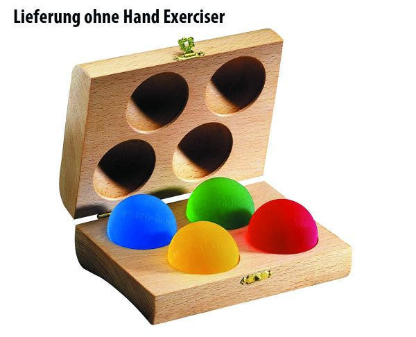 Holzbox für vier Handexerciser