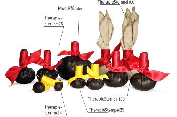 Tücher und Bänder für Moorstempel