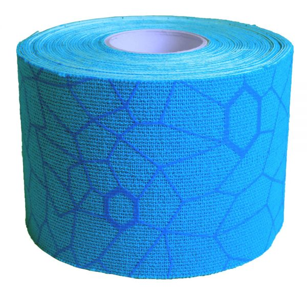 Thera Band Kinesiology Tape 5mx5cm, blau/blau