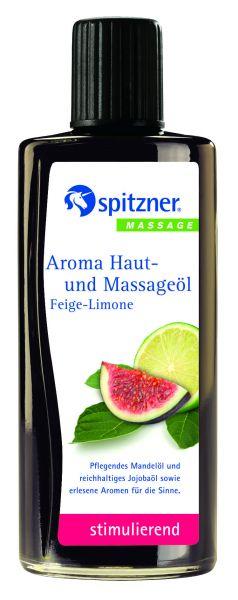 Aroma Haut-und Massageöl Feige-Limone