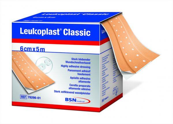 Leukoplast® Classic5 m x 4 cm hautfarbe