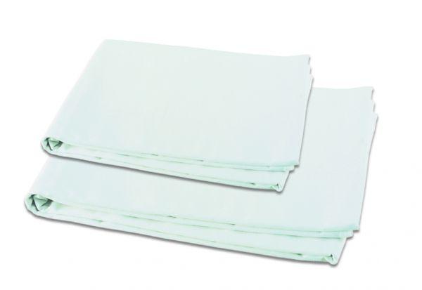 Liegetuch aus Baumwolle 100/220 cm, weiß