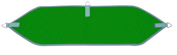 Beckenschlinge mit 3 Ringen - grün