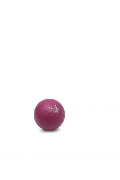 softX® Schaumstoffball mit Haut, pink ∅ 8 cm