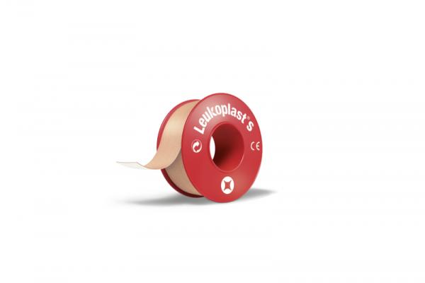 Leukoplast® S hautfarben, 9,2 m x 2,5 cm - 12 Stück