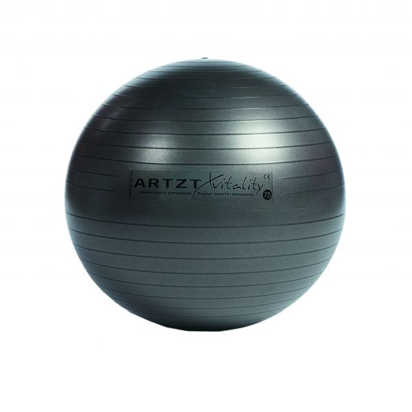 Artzt vitality® Fitness Ball - anthrazit