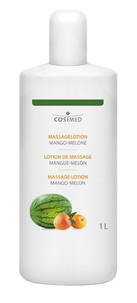 Massagelotion Mango-Melone 1 l Flasche