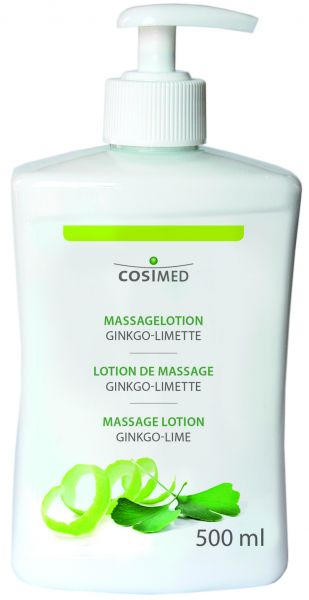 Massagelotion - Ginkgo-Limette - 500 ml