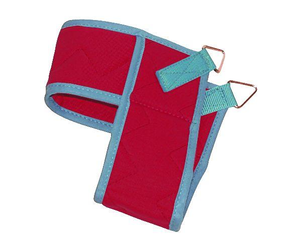 Fußschlinge dreieckig - rot