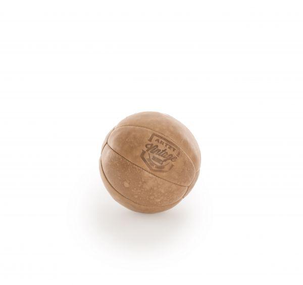 ARTZT Vintage Serie Medizinball 1 kg - Leder