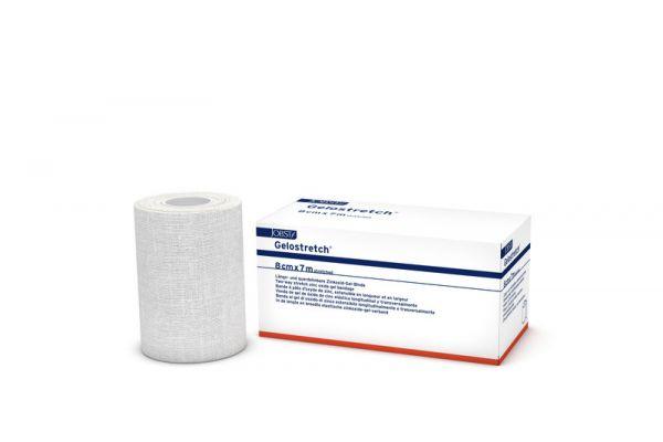 Gelostretch® 8 m x 7 cm weiß - 10 Stück