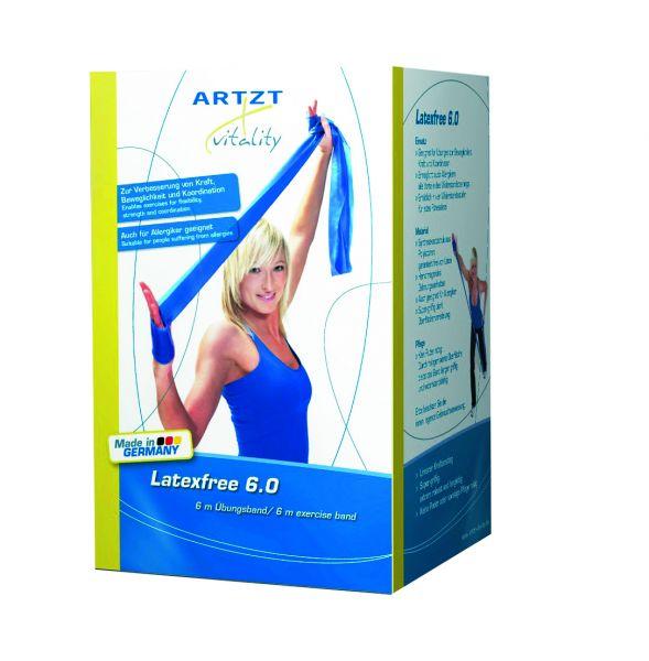 Latexfreies Band 6m - extra stark - blau