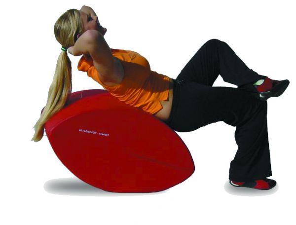 Fitness-Schnecke Kunstleder: rot