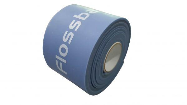 Flossband by Sanctband 7,5 cm, mittel - blaubeere