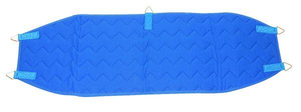 Beckenschlinge mit 5 Ringen - blau