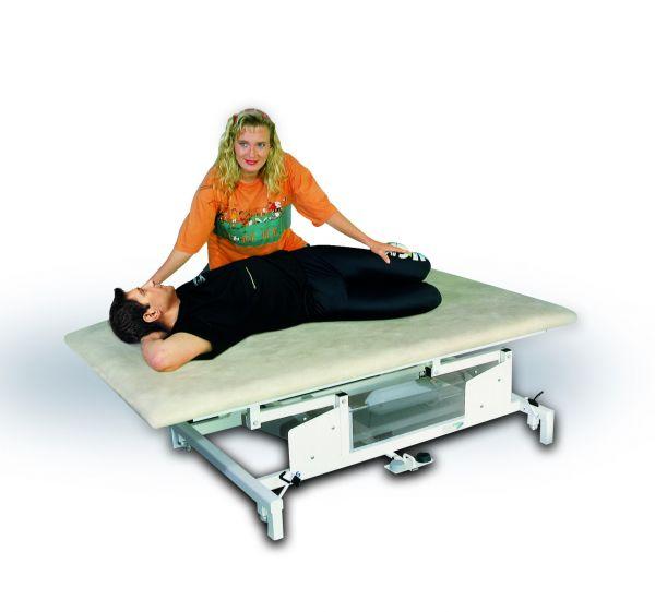 Vojta/Bobath-Behandlungsliege 180x120 cm / Sonderhöhe