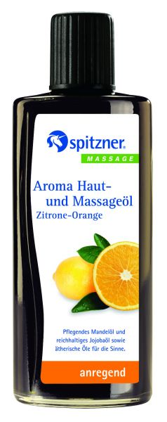 Aroma Haut-und Massageöl Zitrone-Orange